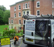 Archers commercial window cleaning services