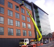 high access window cleaning