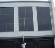 Commercial window cleaners in Keighley