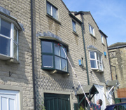 Domestic window cleaning in Keighley